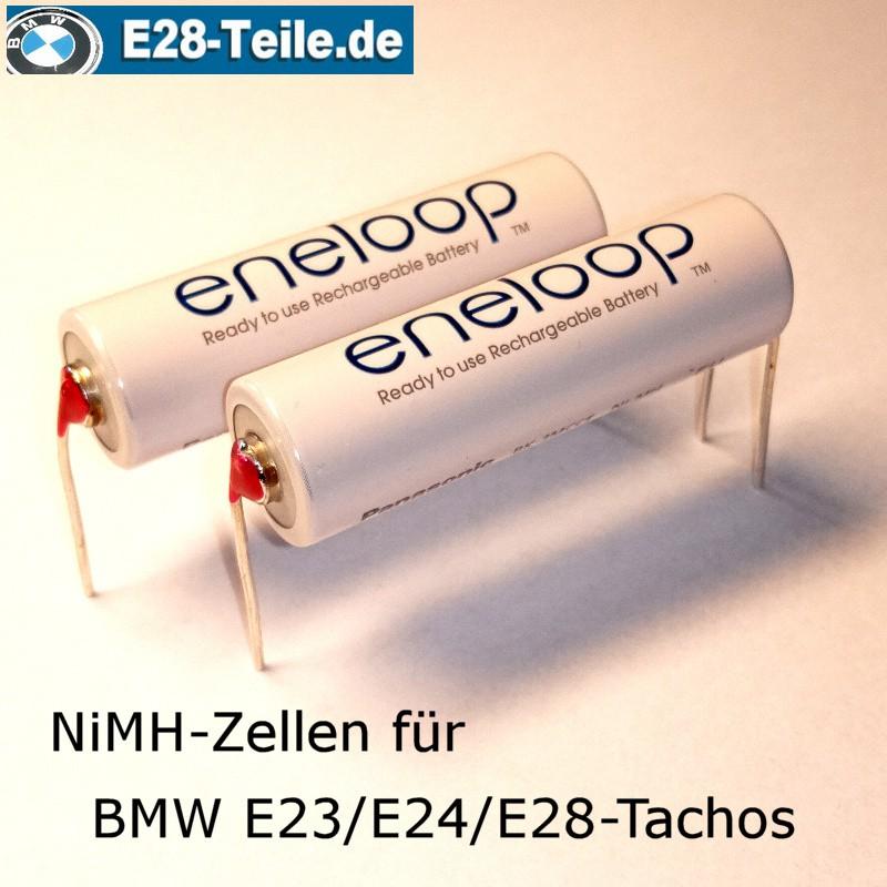 Perfekt passende NiMH-Akkus für BMW-Kombiinstrumente der Baureihen E23, E24, E28 und E30